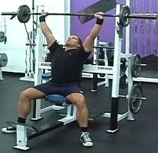 Seated Bench Press Best Shoulder Workout The Top 5 Shoulder Exercises