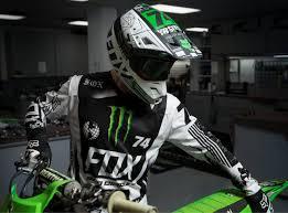 monster helmet motocross fox racing 180 monster pro circuit se mx gear helmet jersey pant