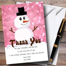 personalised party invitations christmas thank you cards page
