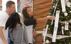 registration for the angel tree program through the salvation army