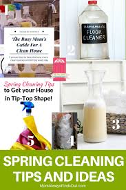 cleaning ideas spring cleaning tips and ideas hm 177 mom always finds out
