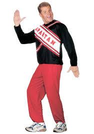 Referee Halloween Costume Men Referee Sports Costumes Mens Funny Spartan Cheerleader Costume