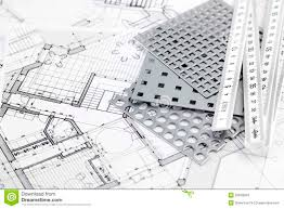 architectural plans ruler perforated metal u0026 architectural plans royalty free stock