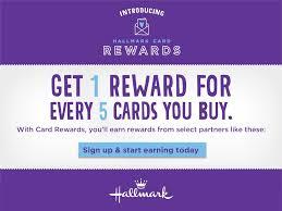 hallmark card rewards program simply being