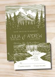 wedding invitations canada best 25 mountain wedding invitations ideas on outdoor