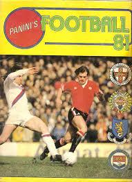 sports photo albums panini football 81 sticker album retro nostalgia
