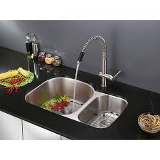 Stainless Steel Pull Out Kitchen Faucet Ruvati Rvf1218st Modern Pullout Kitchen Faucet U2013 Stainless Steel
