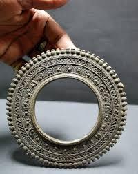 silver bangle from orissa jewellery style a pastiche