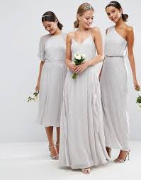 silver wedding dresses for brides best 25 silver bridesmaid dresses ideas on