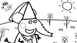peppa pig coloring pages kids fun art coloring book video for kids