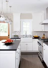 modern farmhouse kitchen with white cabinets modern farmhouse black and white kitchen ideas pickled