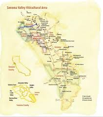 Oregon Winery Map by Sonoma Valley Winery Map A Little Bit Of California Dreamin