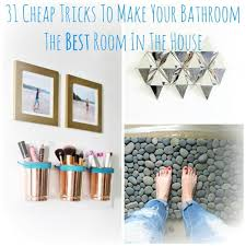 How To Make An Ensuite In A Bedroom 31 Cheap Tricks For Making Your Bathroom The Best Room In The House