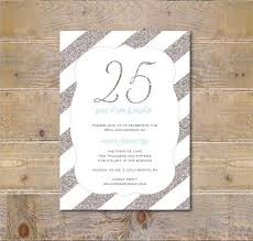 25th wedding anniversary invitations free 25th wedding anniversary invitations 25th wedding