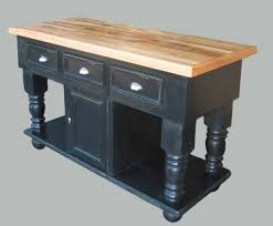 Antique Butcher Block Kitchen Island Antique Black Kitchen Island Brockhurststud Com