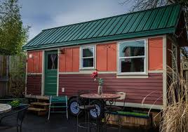 tiny cabin on wheels a quirky portland stay in a tiny house on wheels at caravan voux