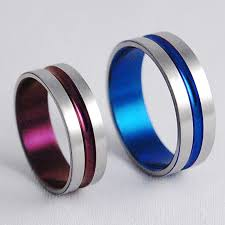 titanium wedding rings wedding bands titanium rings titanium wedding ring set