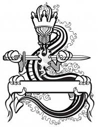 images for sword with banner tattoo designs clip art library