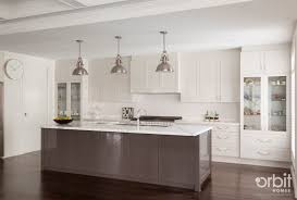 Hamptons style Kitchen with a chic and modern finish Pendant