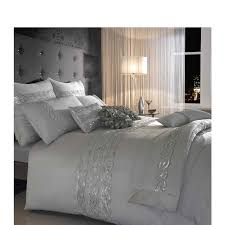 kylie sequin wave duvet cover silver from glasswells ltd home