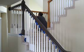 Banister Out With The Oak In With The New Diy Banister Makeover