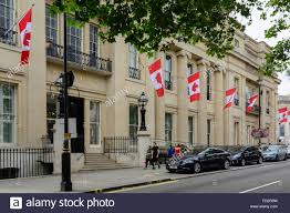 Canadian House Canada House On Trafalgar Square London Embassy Of Canada In
