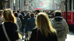 Tokyo Japan Circa November 2016 Crowds Of People Walking In Tokyo by Tokyo Japan Circa November 2016 Crowds Of People Walking