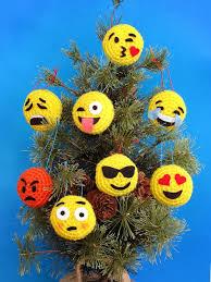 amigurumi emoji ornaments kazooko net