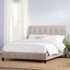 Bed Frame White Sized Beds You Ll Wayfair