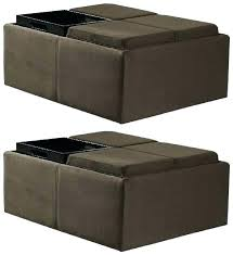 storage ottoman bench brown brown bedroom benches bedroom furniture the home depot chocolate