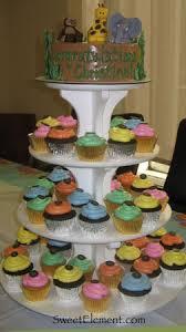 jungle baby shower cake sweetelement