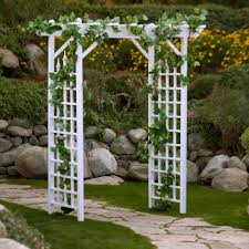 Pergola Wedding Decorations by Cute Square Wedding Arch In Out Door Decoration Wedding With