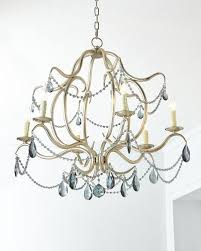 Metal Chandelier Frame Chandelier Lighting At Neiman Marcus Horchow