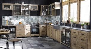 cuisine maison bois meubles de cuisine indépendant et ilot maison du monde kitchens