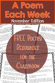 the 25 best november poem ideas on preschool