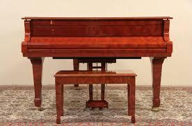 sold pramberger 6 u0027 platinum series bubinga grand piano u0026 bench