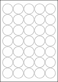 blank label template 37mm circle blank label template eu30021
