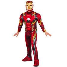 Halloween Costumes Iron Man Iron Man Light Costume Ebay