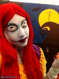 Jack Skellington Halloween Costume Kids Sally Nightmare Christmas Costume Diy Photo 3 4