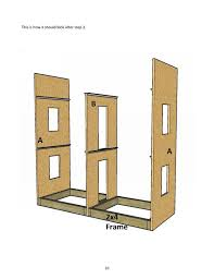 18 Doll House Plans Free by Doll House Plans For American Or 18 Inch Dolls 5 Room Not