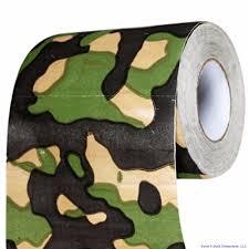 novelty toilet paper holder toilet paper camouflage roll fits holder biodegradable safe