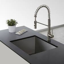commercial style kitchen faucets kpf 2630ss mateo single lever commercial style kitchen faucet in