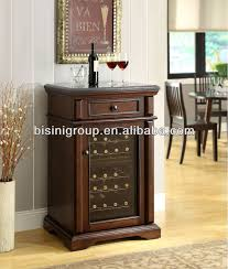Bar Cabinet With Wine Cooler Bisini Mini Wooden Electric Wine Refrigerator Bf09 42033 Buy