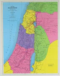 Map Of Israel In Jesus Time Palestine Map