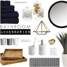 polyvore home decor romantic bathroom accessories polyvore on navy interior home