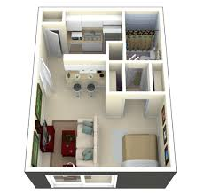 Small 1 Bedroom House Plans by Small Apartment Floor Plans U2013 Laferida Com