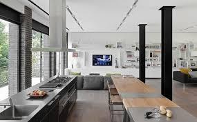 cuisine ouverte sur salon ouverte sur salon