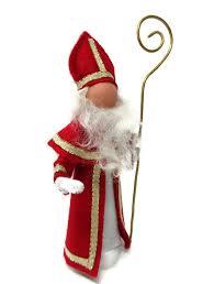 santa claus ornament sinter klaas clothespin ornament peg doll