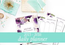 free printable life planner 2015 2015 2016 daily planner student planner day planner printable