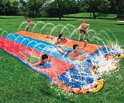 Backyard Slip N Slide Slip And Slide Hockey Rink